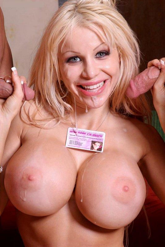 Blonde with desire for more sex