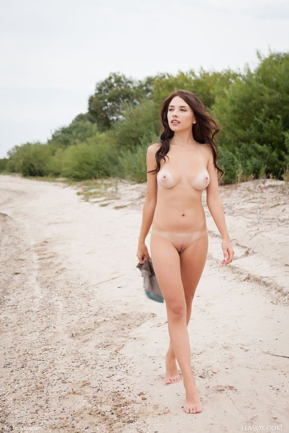 Bareness at the beach…