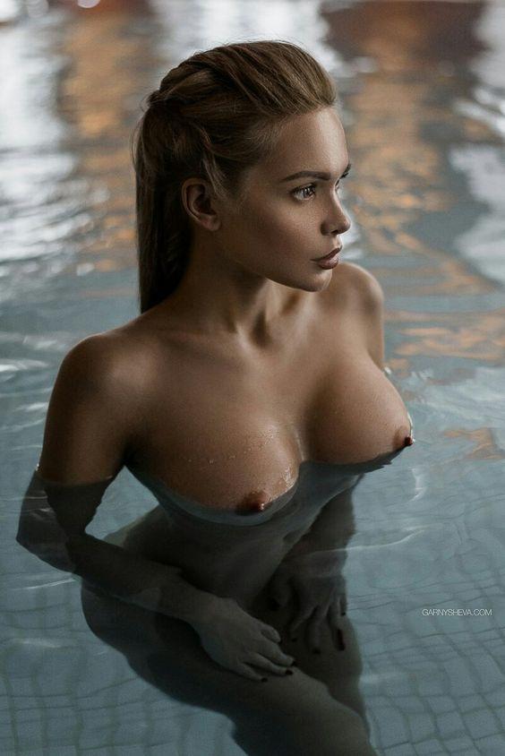 Beautiful erect nipples..