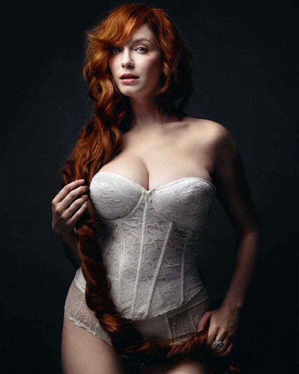 Gorgeous red head beauty..