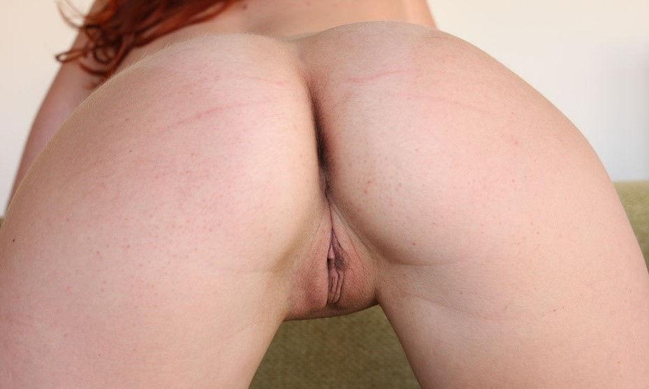 Redhead white ass, Elen Moore