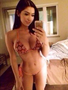 selfshot bikini babe