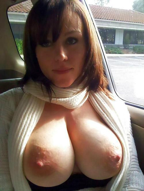 Topless Car Ride