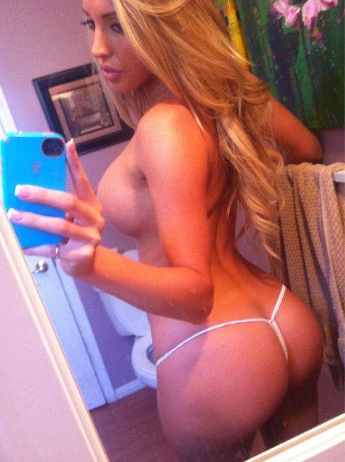 Sexy hot selfie