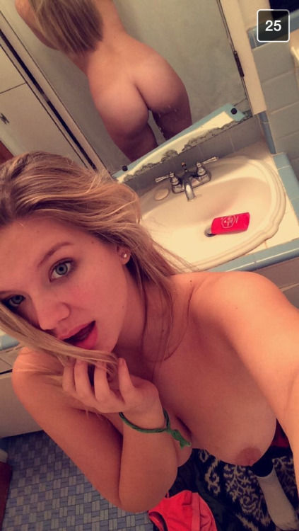 Bathroom mirror selfie,,..