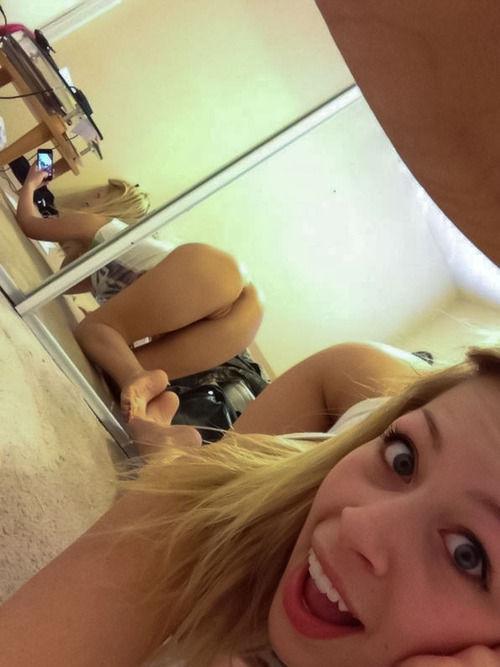Bedroom closet mirror shot…