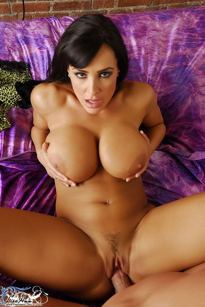 Lisa Ann fucking and touching her big tits