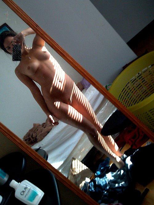 Nude selfie..