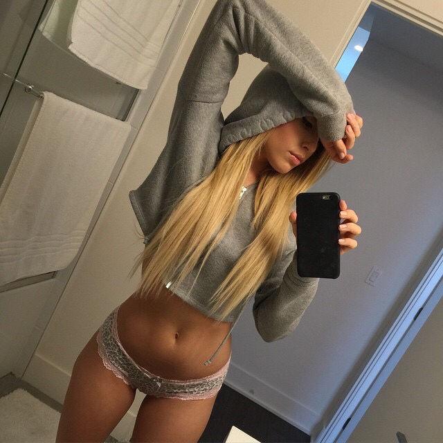 Sexy hot blonde..