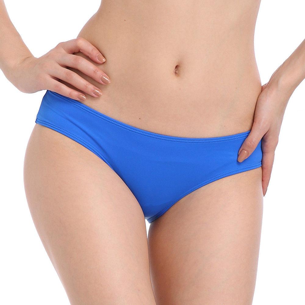 Lady in Blue Bikini