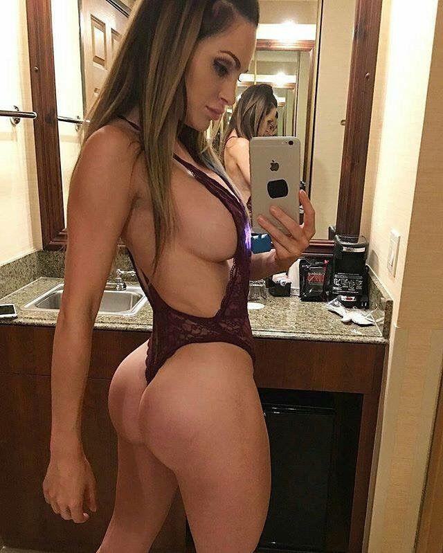 Flirtatious selfie