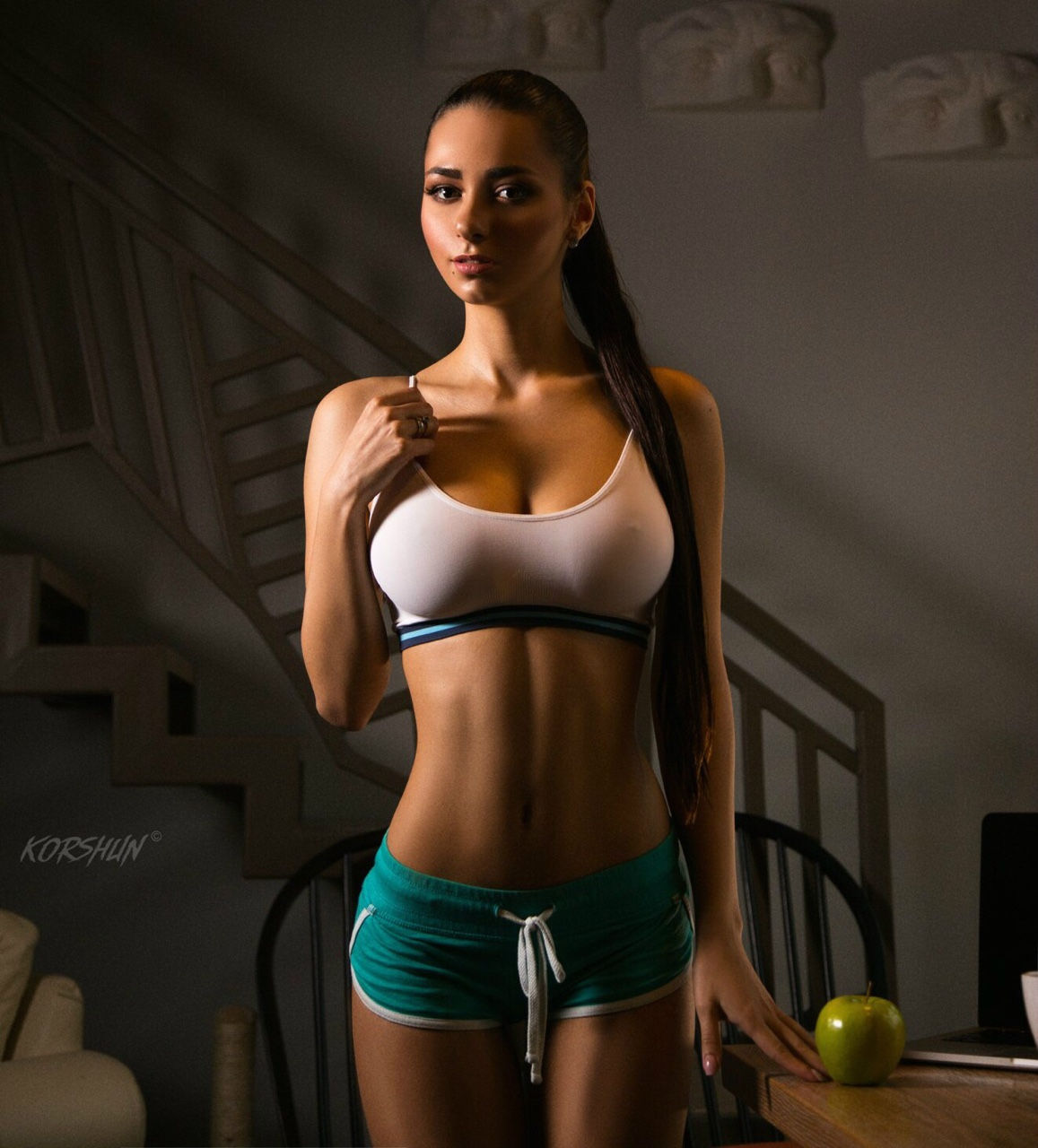 Hot sporty look..