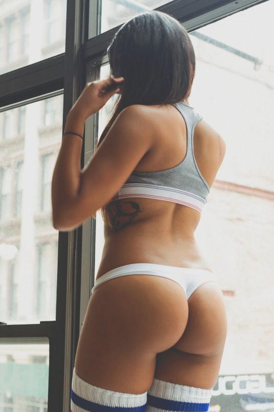 Cute booty..