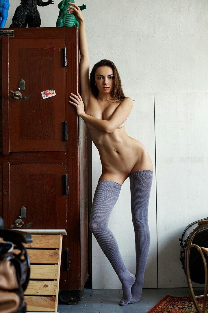 Perfect slim figure..