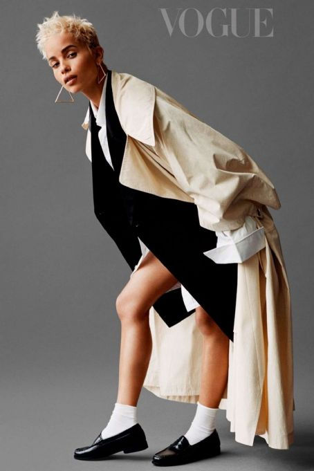 Name: Zoe Kravitz, Profession: Actress, Ethnicity: Black, Nationality: United States, Place of B ...