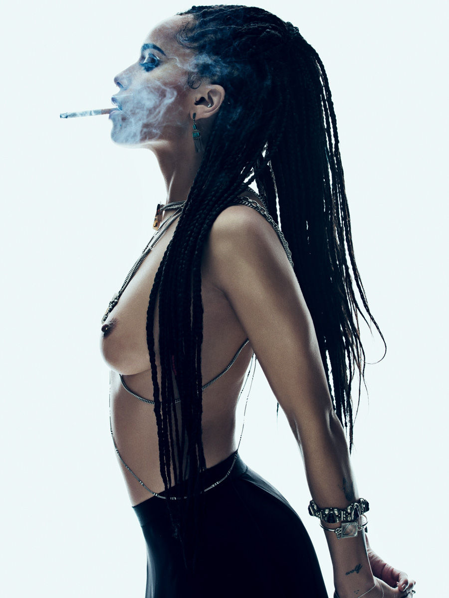 Name: Zoe Kravitz, Profession: Actress, Ethnicity: Black, Nationality: United States, Place of B ...