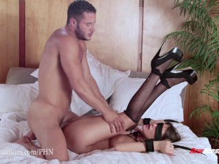 August Ames is fucked by her husband blindly
