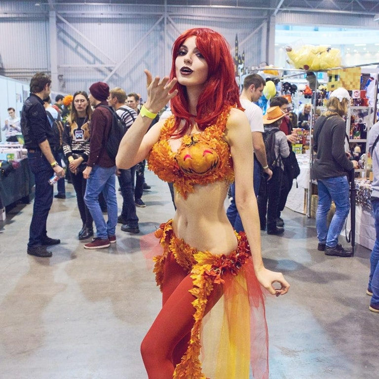 Halloween Poison Ivy by MightyRaccoon