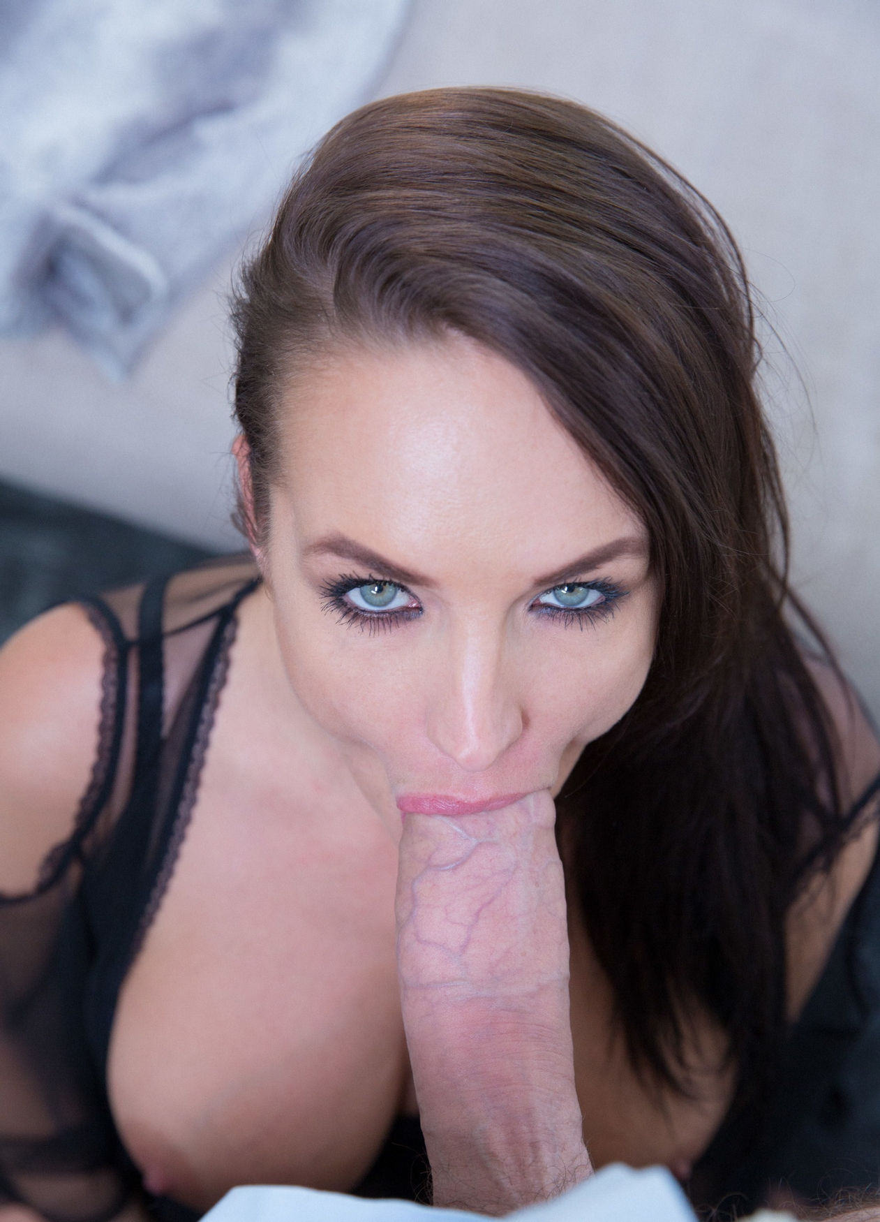 Sucking on some Big Dick while staring into your Soul
