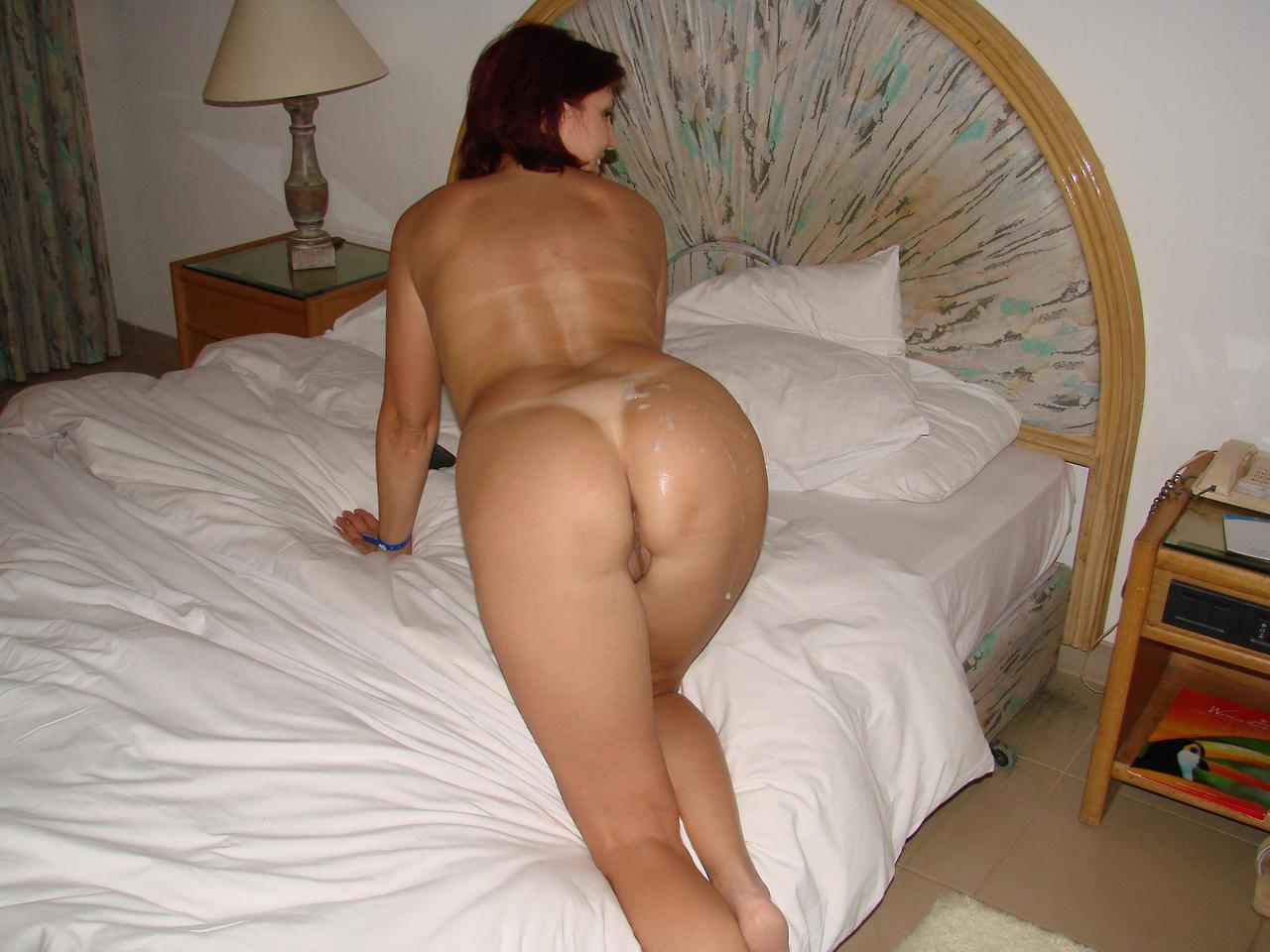 Big ass amateur wife