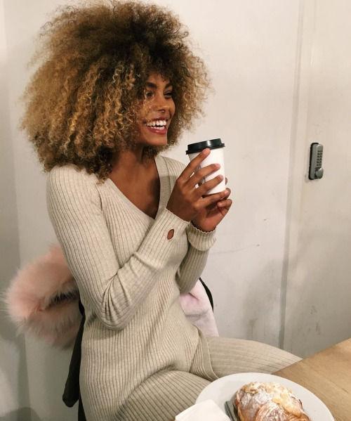 Name: Tina Kunakey, Profession: Fashion Model, Nationality: France, Place of Birth: Toulouse, Oc ...