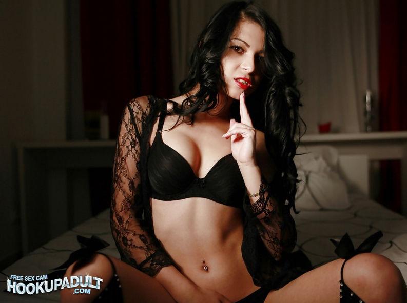 Lusty Brunette