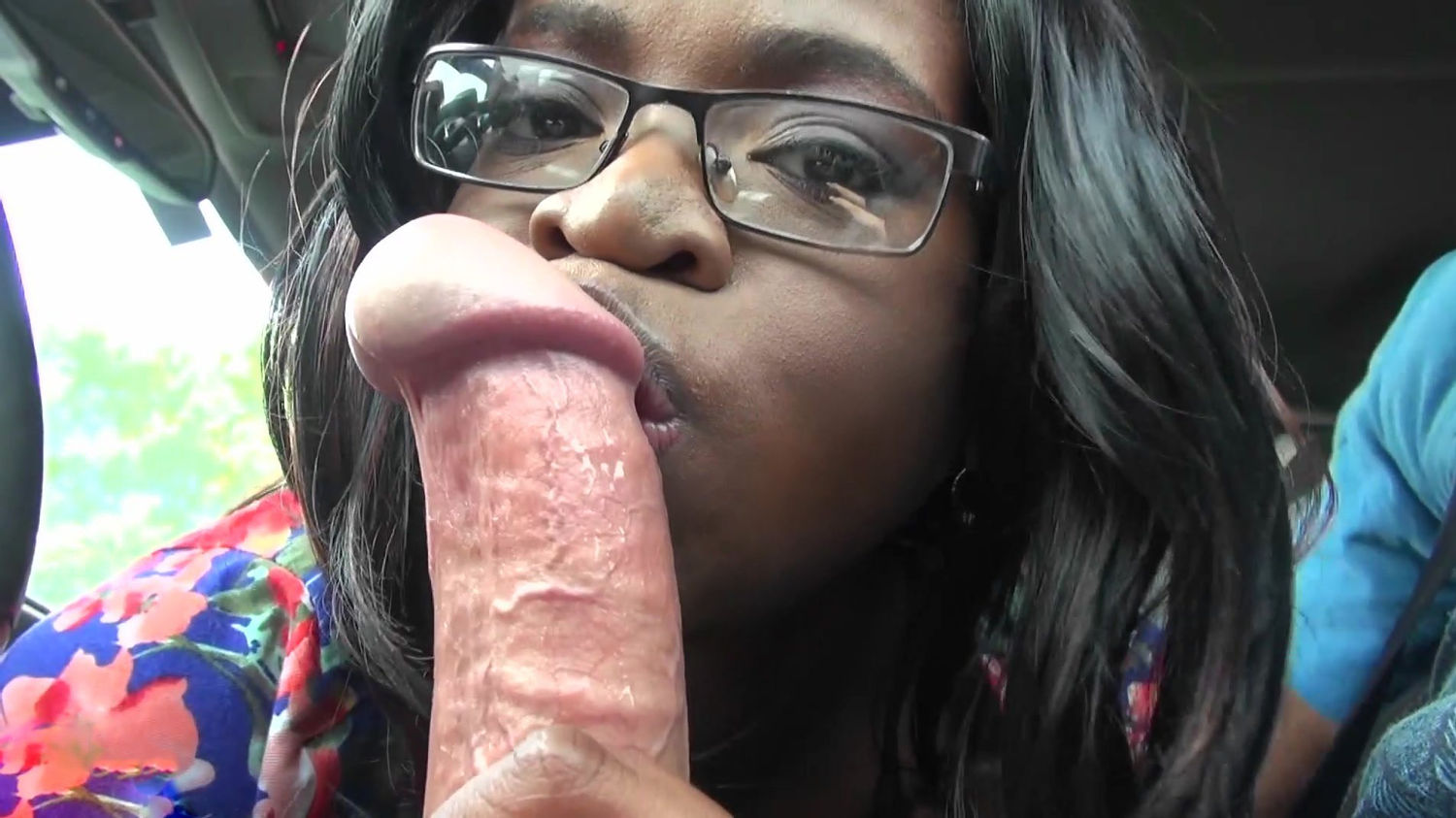 Black Ebony Teen Is Ready To Suck His Big Boy Cock