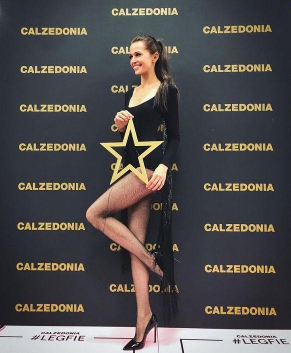 Name: Alena Podloznaya, Profession: Fashion Model, Nationality: Russia, D.O.B: April 14, 1994, H ...
