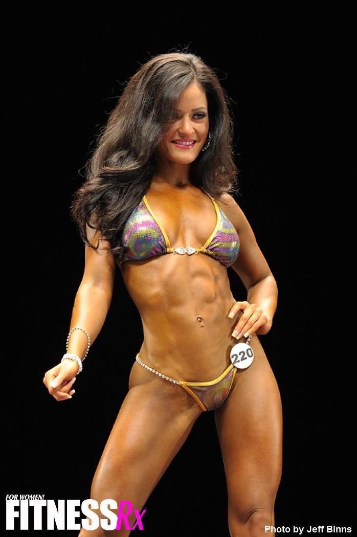 Jessica Arevalo in a bikini