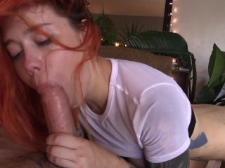Lucy Everleigh have rough sex with tattooed man