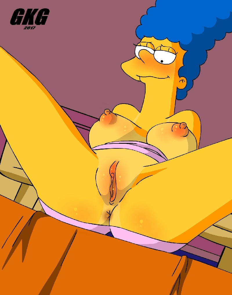 Marge Simpson is Anal Mom