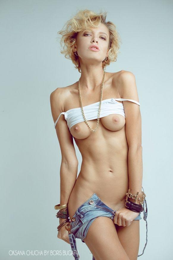 Name: Oksana Chucha, Profession: Fashion Model, Ethnicity: Caucasian, Nationality: Russia. P.O.B ...