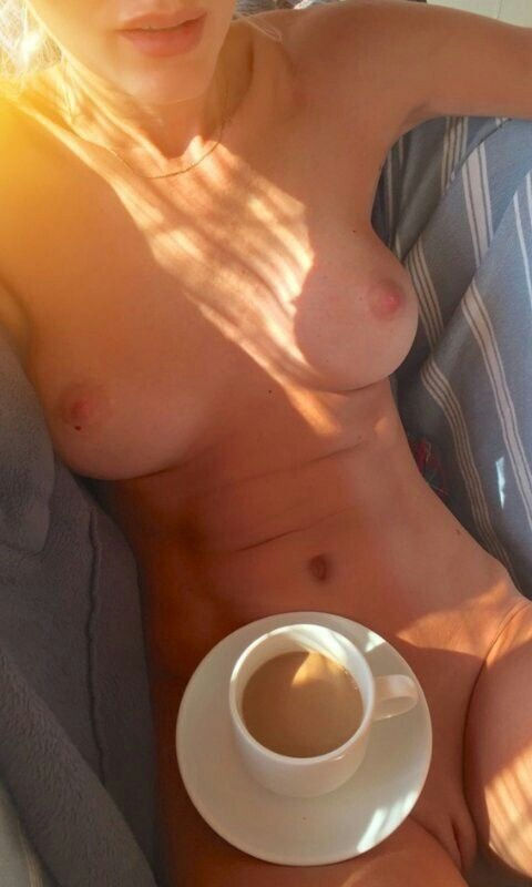 Sex & coffee…breakfast of freaks..😄😂😃😉