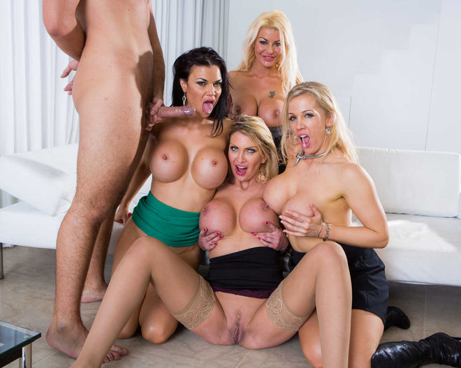Jasmine Jae / Leigh Darby / Rebeca More / Tia Layne – fucking milfs