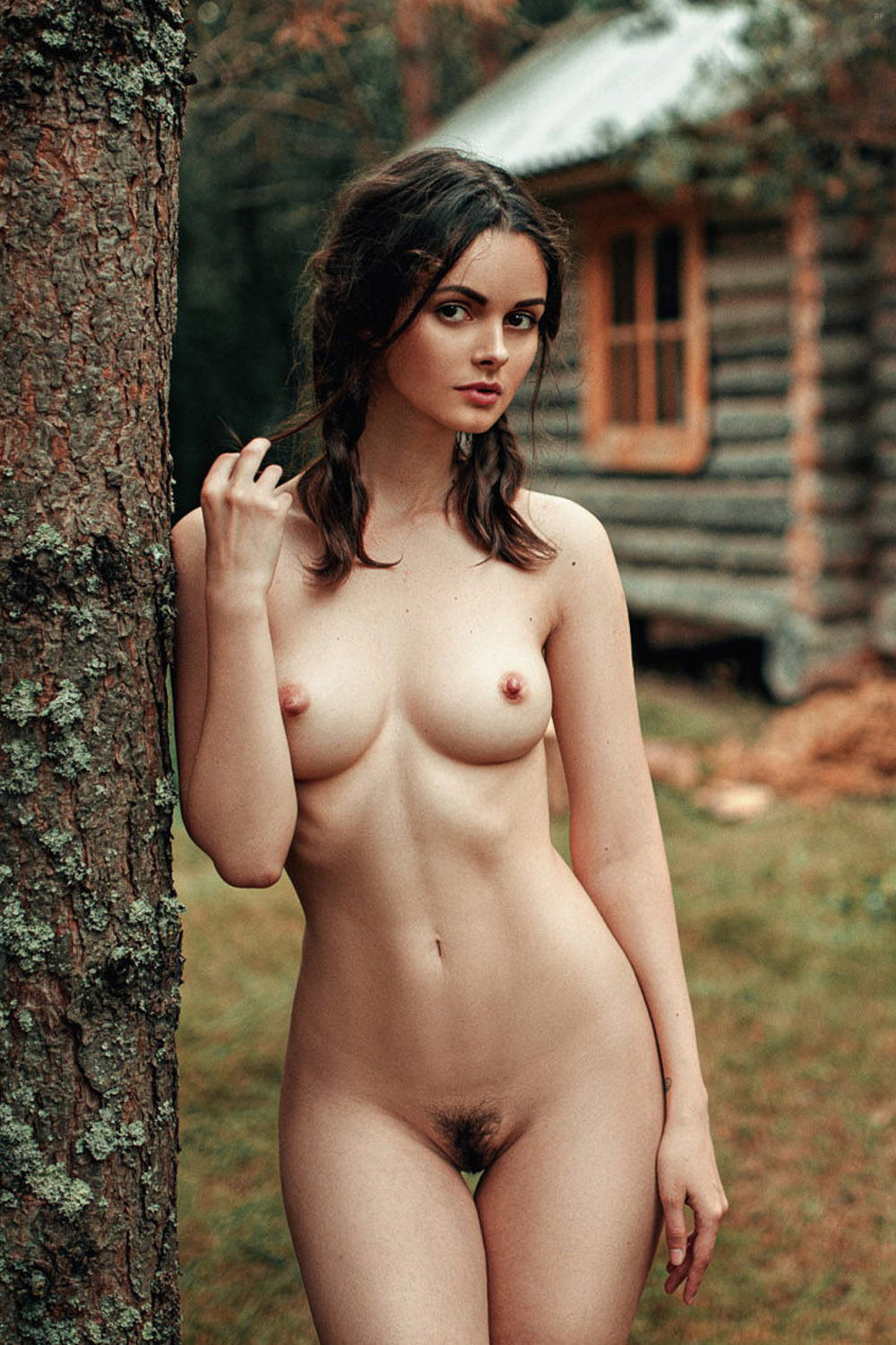 Opinion Beautiful sultry brunettes nude interesting idea