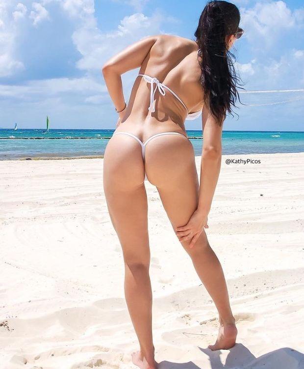 Name: Kathy Picos, Profession: Fitness Model, Nationality: Peru.