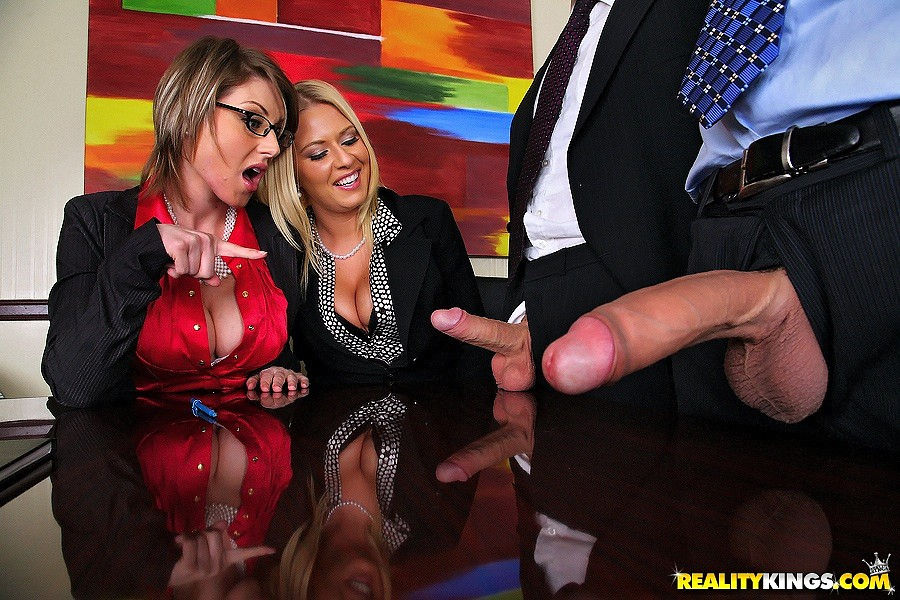 Riley Evan & Velicity Von – which cock  do you want ?