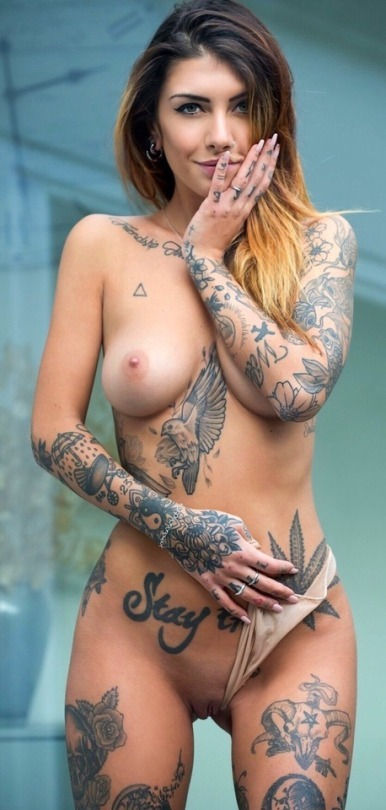 Girls with tattoos do it better..