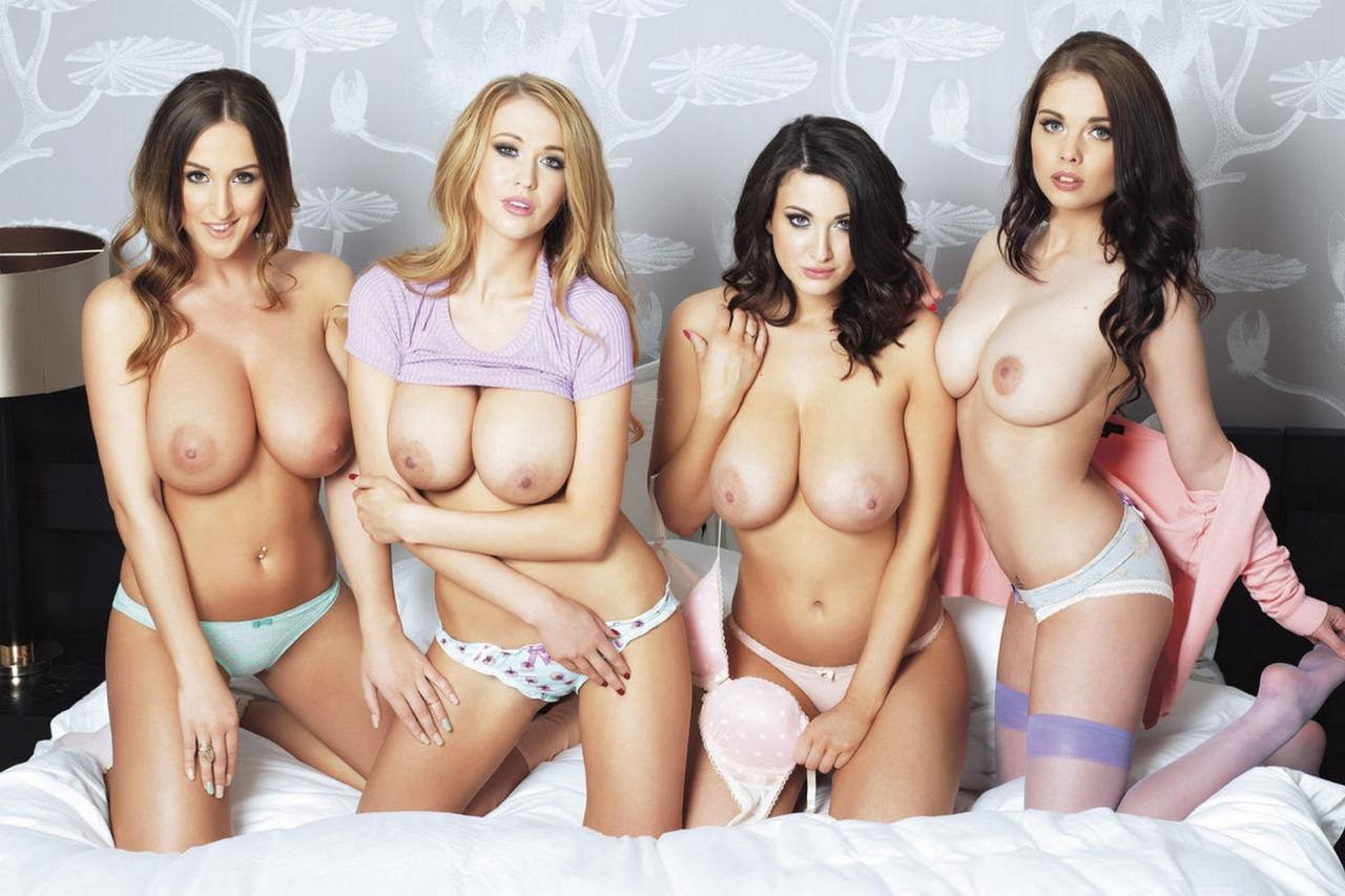 4 British Babes