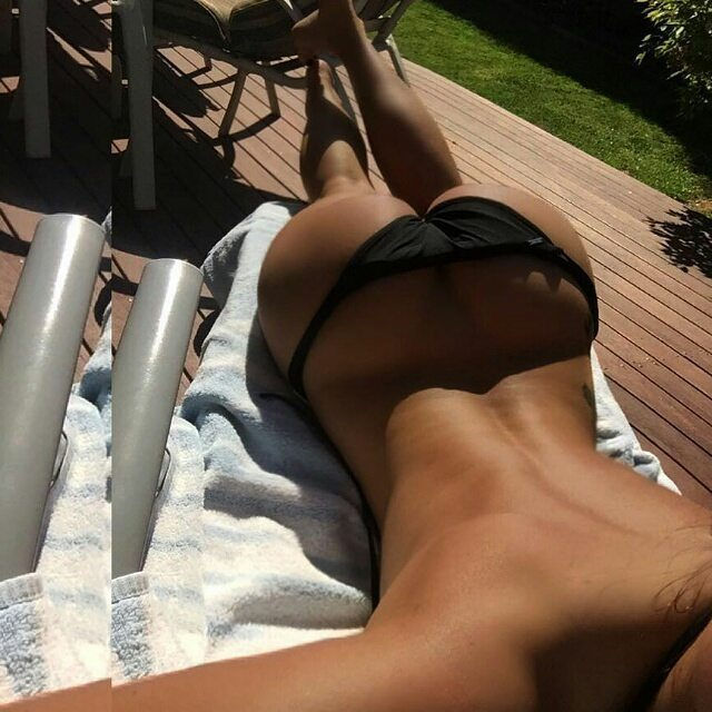 Getting some Rays on those buns..