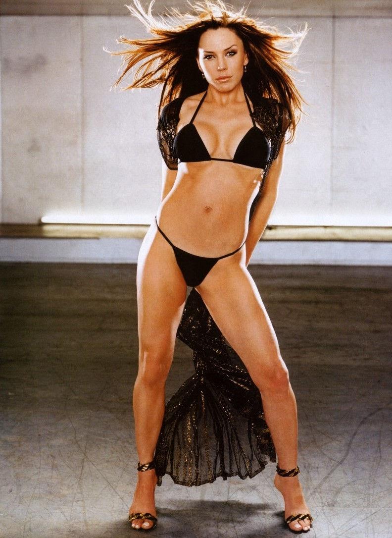Krista Allen in a bikini