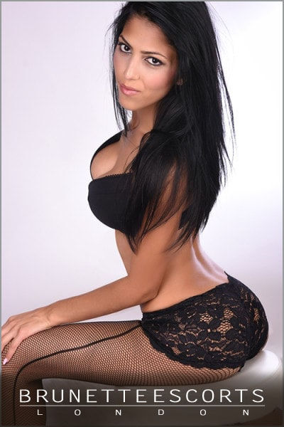 Slim Brunette Escort