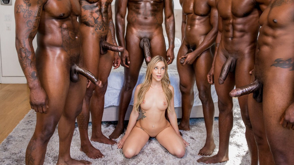 Kali Roses – ready to be fucked by a lot of nigga cocks