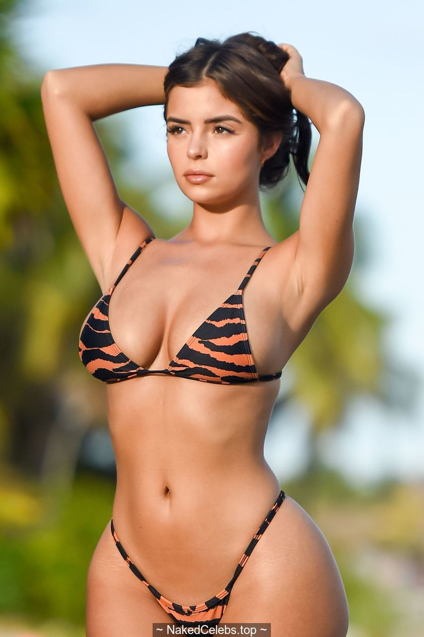 Demi Rose sexy in bikini photoshoot in Tulum