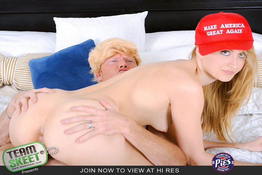 Alexa Grace – fucking with the President