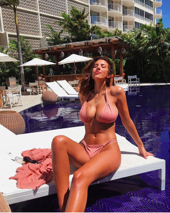 Devin Brugman was born to wear bikinis in the sun all damned day.