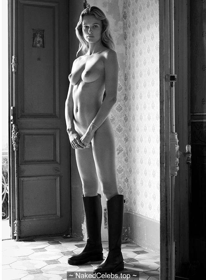 Edita Vilkeviciute nude for Unconditional Magazine 2019