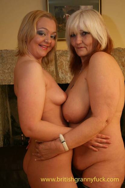 Mature British Lesbian Couple. happy to be dildo-ed by the old wrinkly grandmother