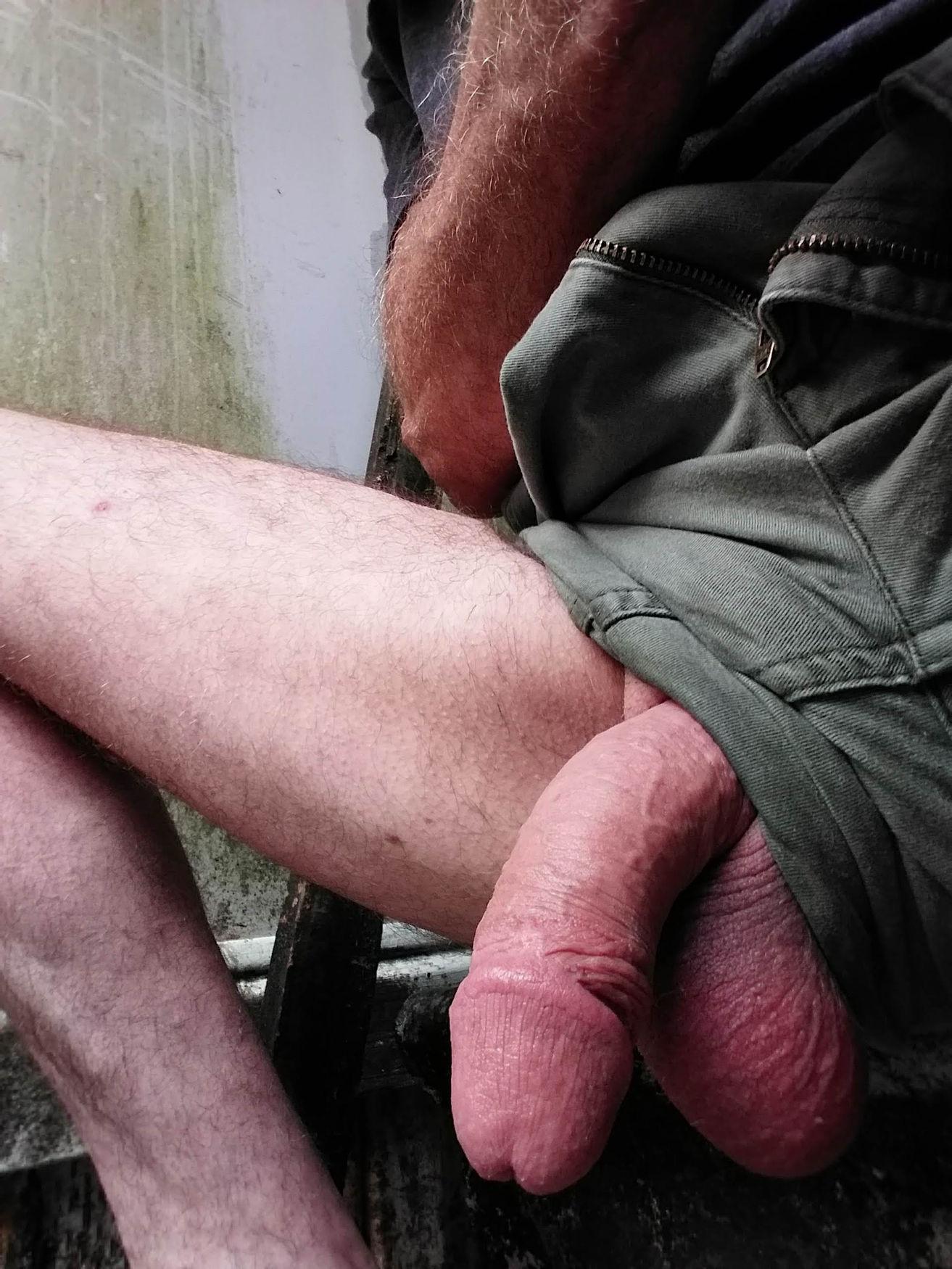 Hanging around outdoors