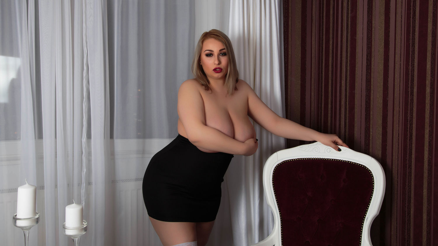 Busty Kat charming bigg  sex cam model